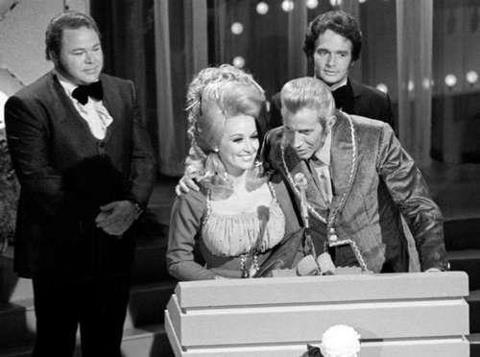 Roy Clark, Dolly Parton, Porter Wagoner, Merle Haggard