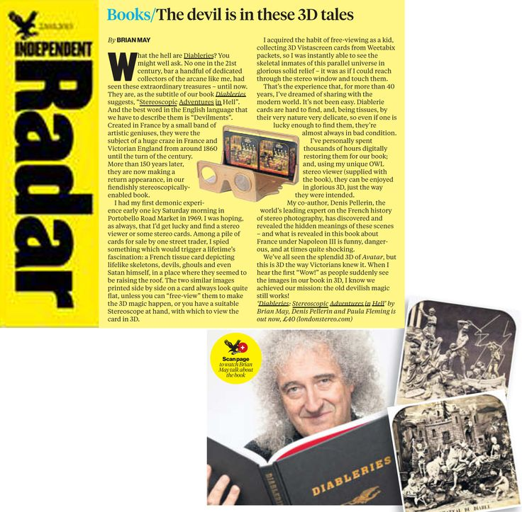 Independent - An article in Brian May's own words