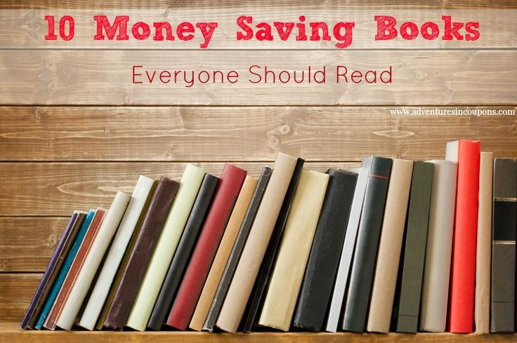 10 Money Saving Books Everyone Should Read! These books will have you saving dollar after dollar in no time!