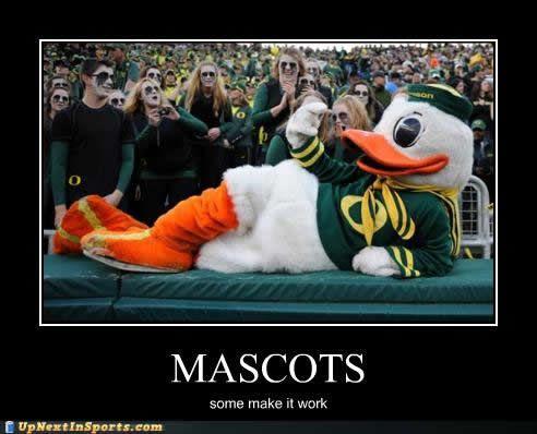 The Oregon Ducks