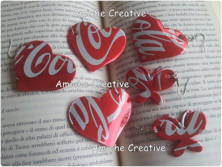 Orecchini Coca Cola, by Amiche Creative,  su misshobby.com
