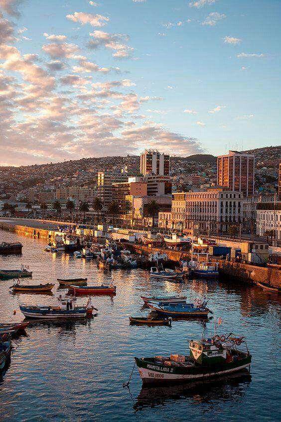 Puerto de Valparaiso.