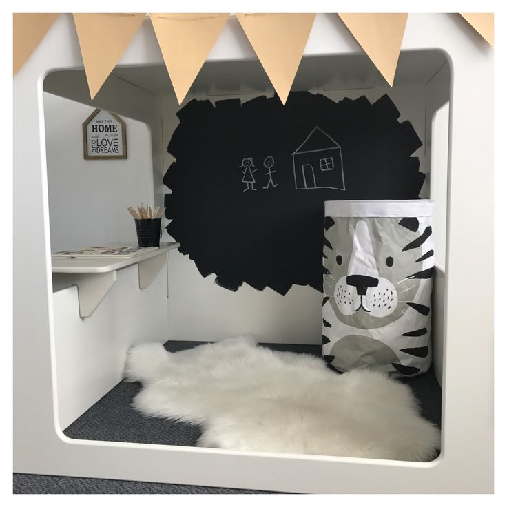 Modern cubby house for indoor, indoor modern cubby house, wooden cubby house, indoor playroom, kids playroom