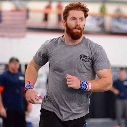 Buff, bearded ginger...handsone as fuck