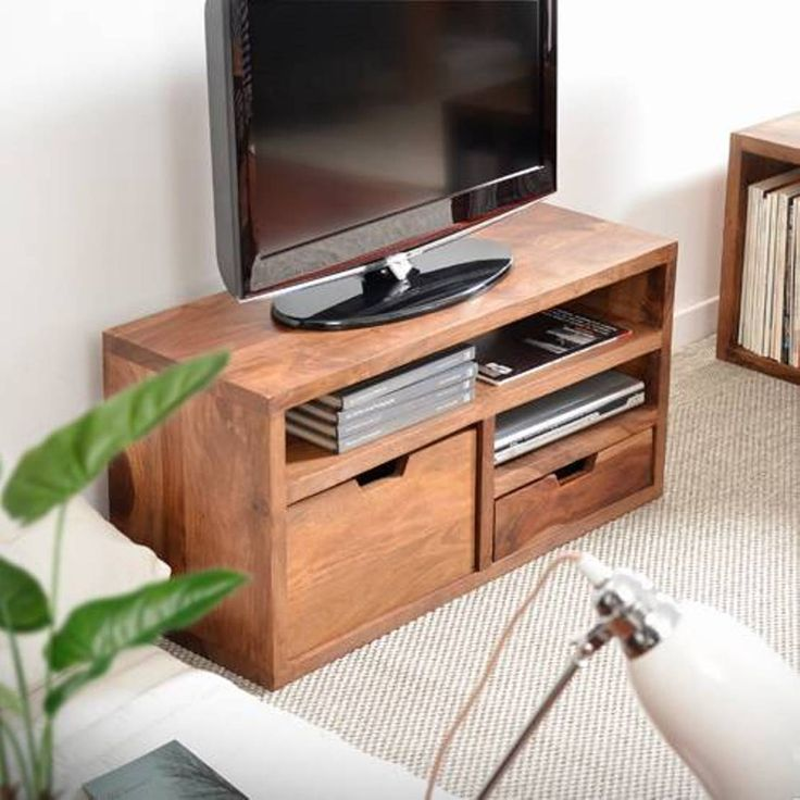 Small Tv Stands With Storage : Space Saving Small TV Stands