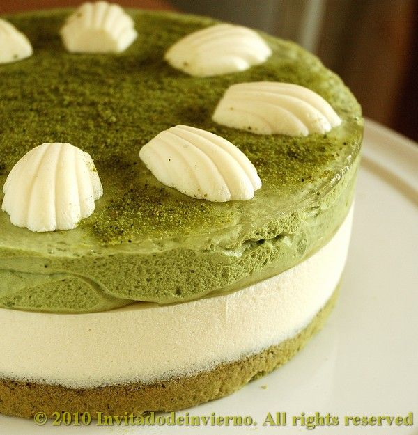 Matcha Tea And Mascarpone Tart Recipe on Yummly. @yummly #recipe