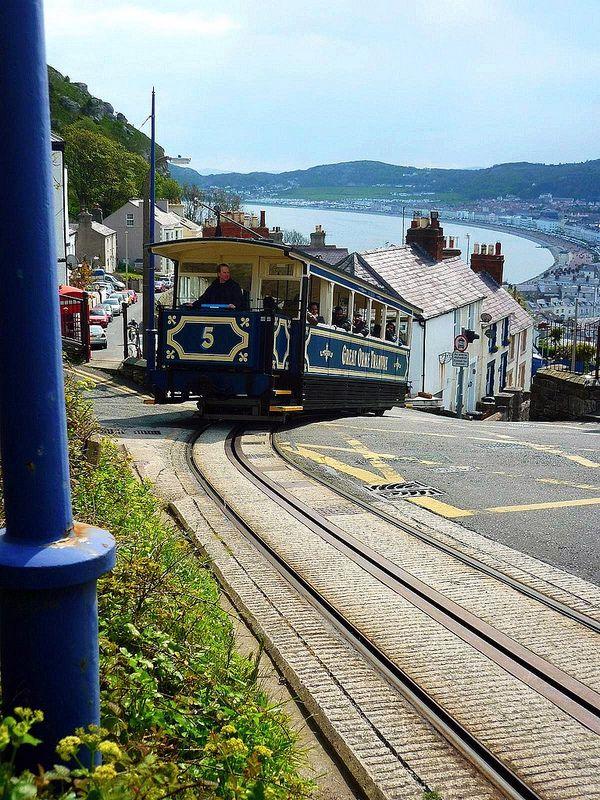 Great Orme Tram Leaves Llandudno ~ North Wales