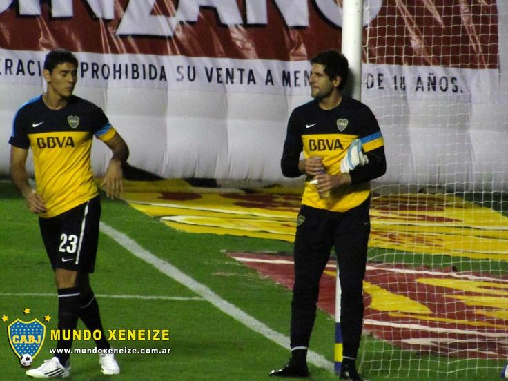 Orion y Ustari Boca vs Unión 3 marzo 2013