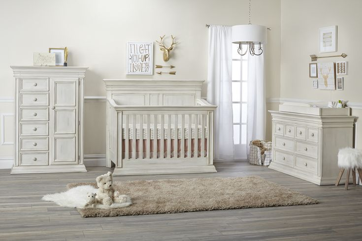 Vienna Nursery Furniture Collection from Baby Cache - clean lines with a gorgeous new finish. #PNpartner