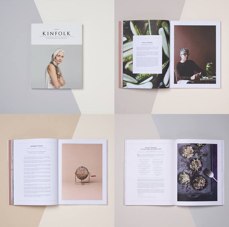 Lookbook Inspiration // Love the minimalist look of the Kinfolk magazine.