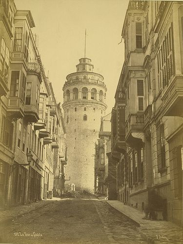 Galata Tower - A. D. White Architectural Photographs, Cornell University Library