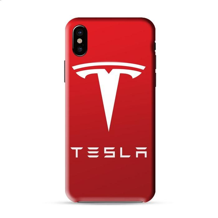 New Tesla Motors Logo Iphone X 3D Case Caseperson