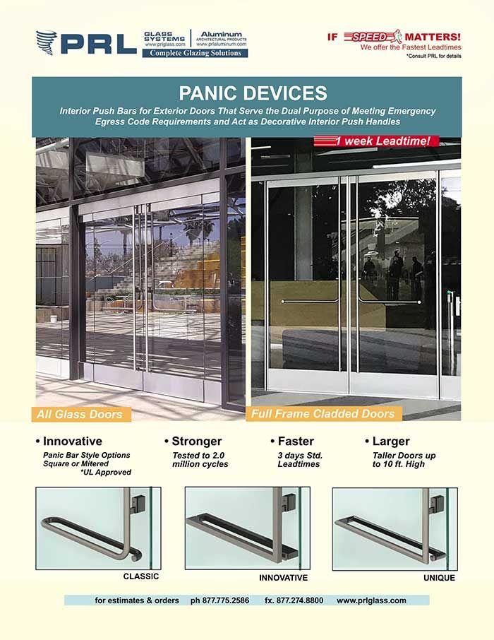 Full Frame And All Glass Door Panic Device Video Glass Entrance Doors Door Suppliers Glass Door
