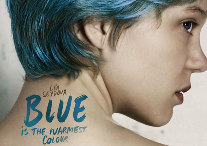 Blue is the Warmest Color (winner of the Palme d'Or at Cannes) - http://www.bing.com/images/search?q=blue+is+the+warmest+color+-+poster=blue+is+the+warmest+color+-+poster=IGRE#view=detail=5AB808C5F4694420F38CF894557663ACB690FD24=12