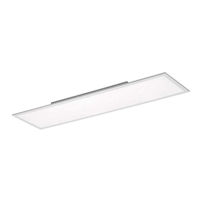 LED Deckenlampe Dimmbar Wohnzimmerlampe DeckenleuchteTageslicht Warmweiß Remote