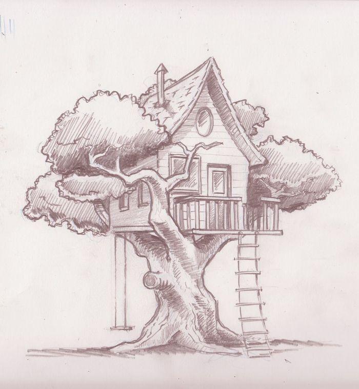 Для постройки домика на дереве нужен план! Рассказываем обо всех нюансах.
