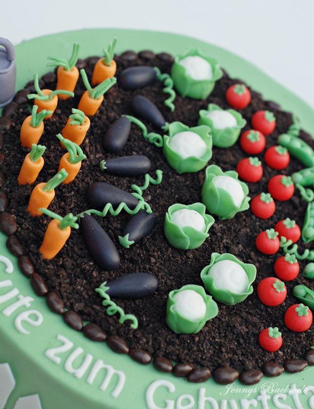 Und Wieder Eine Garten Torte In 2020 Torten Essen Und Trinken Lebensmittel Essen
