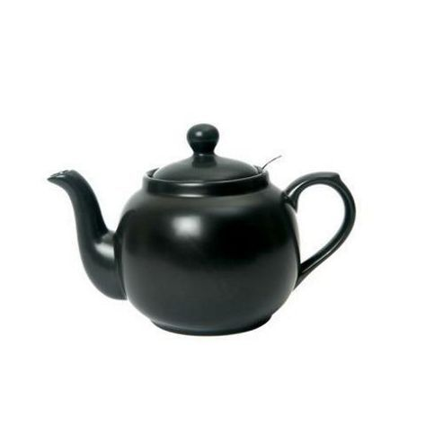 London Pottery Co. 2 Cup Farmhouse Filter Teapot Black