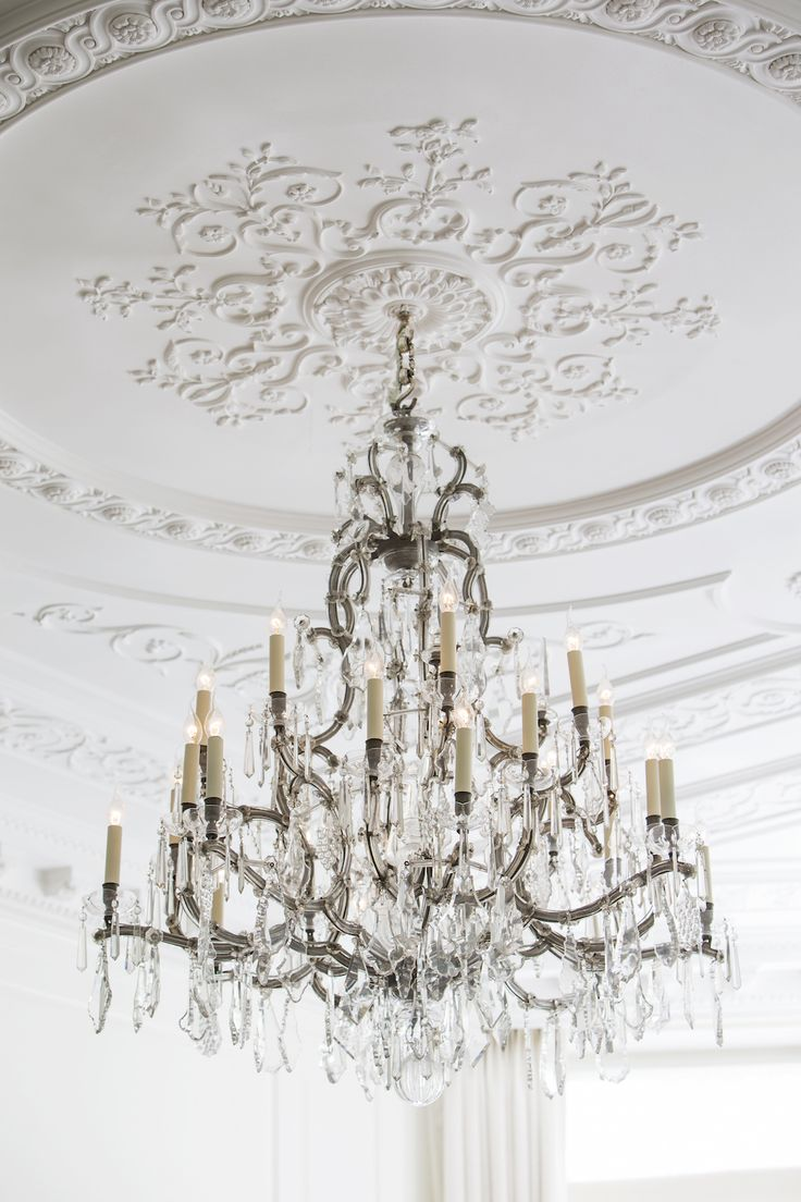 An Antique Silver Gilt Birdcage Chandelier In Project Pearl Interior Design By 1508 London