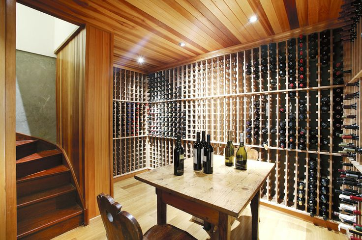 Cellar design, basement,  Constructed by Classic Projects