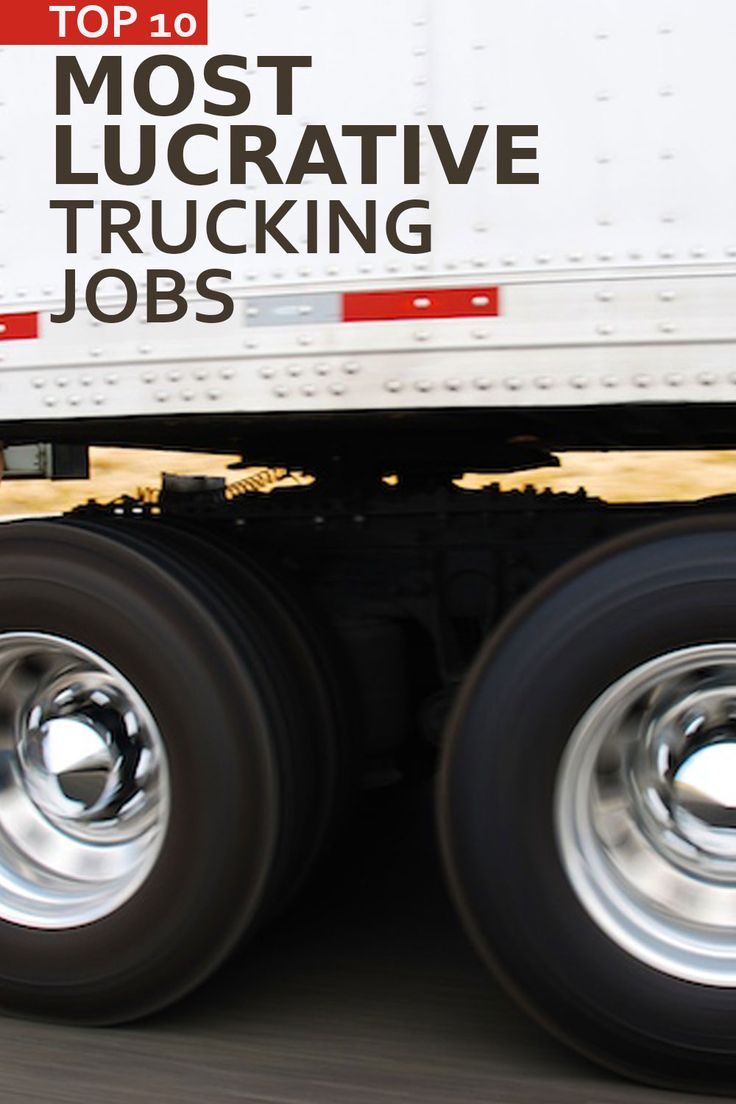 Want to know what trucking jobs pay the most? Check out our list of top paying jobs in the trucking industry such as: Hazmat truck driver; Liquid hauler; and Oversized loads trucker. Click through to read the full list!