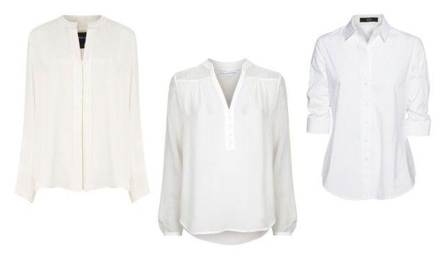 """""""biała koszula"""" by izabelamisztal on Polyvore featuring moda, Derek Lam, Diane Von Furstenberg i Steffen Schraut"""