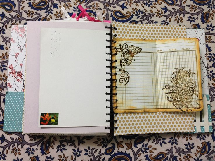 Handmade Journal pages