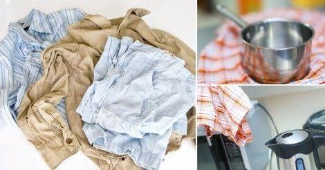 8 métodos para quitar las arrugas de la ropa sin plancharla