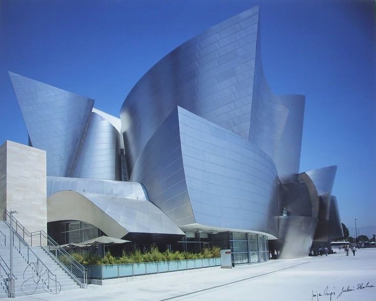 7 Buildings That Defined Frank Gehry's Legacy Frank Gehry Disney Hall Photographs (Suite of 3 with Cloth Presentation Folio) , 2003 Edward Cella Art and Architecture