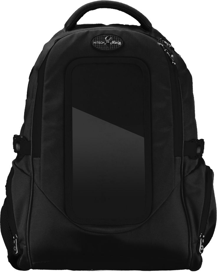 HiTech Ninja Solar Power Backpack, Solar Bags and Power Banks for Charging Cell Phones and Portable Devices On-The-Go! iPowear Solar Power Backpack & Purses