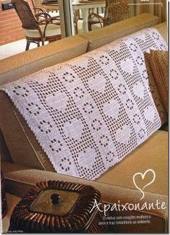 Blog de artedetransformar :Croche sobe medida, Capa de sofa  em croche