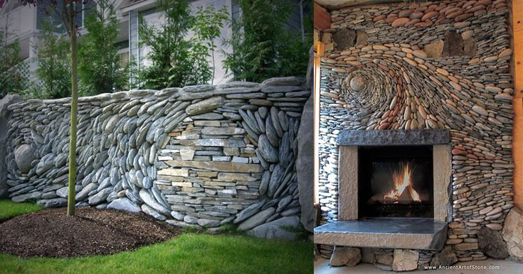 The Most Amazing Stone Walls You Will See Today - Andreas Kunert and Naomi Zettl are the husband and wife duo behind Ancient Art of Stone. Together the two artists create some of the most beautiful and intricate stone walls you will ever se...