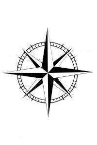This is about a compass tattoo, meanings, ideas and symbolism.