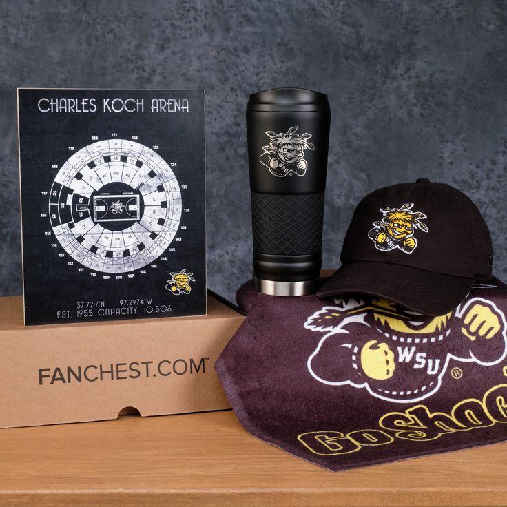 Wichita State Shockers Gift Box Premium Shockers Gear