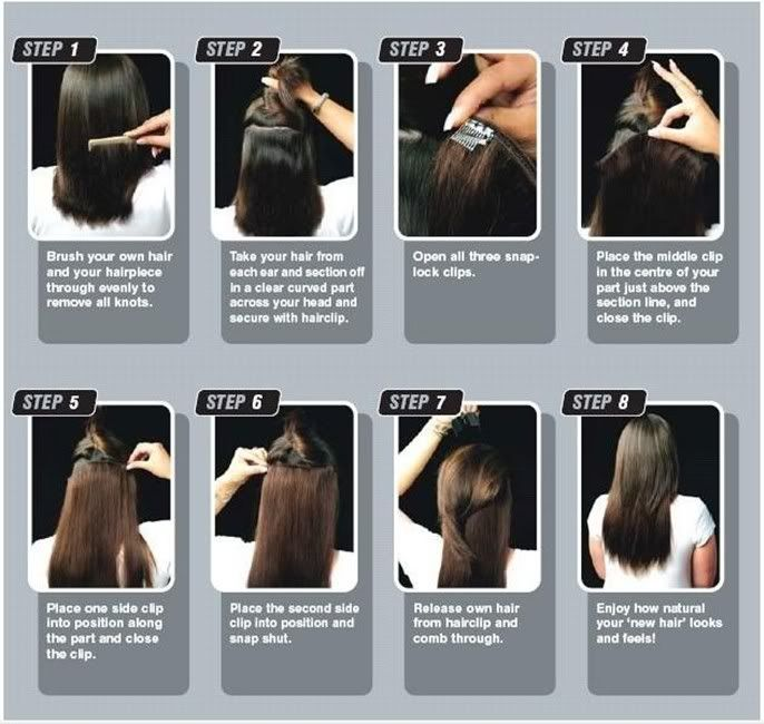 How To Take Care Of Synthetic Hair Pieces? Clip In Hair Extensions Half Full Head One Piece Curly Straight