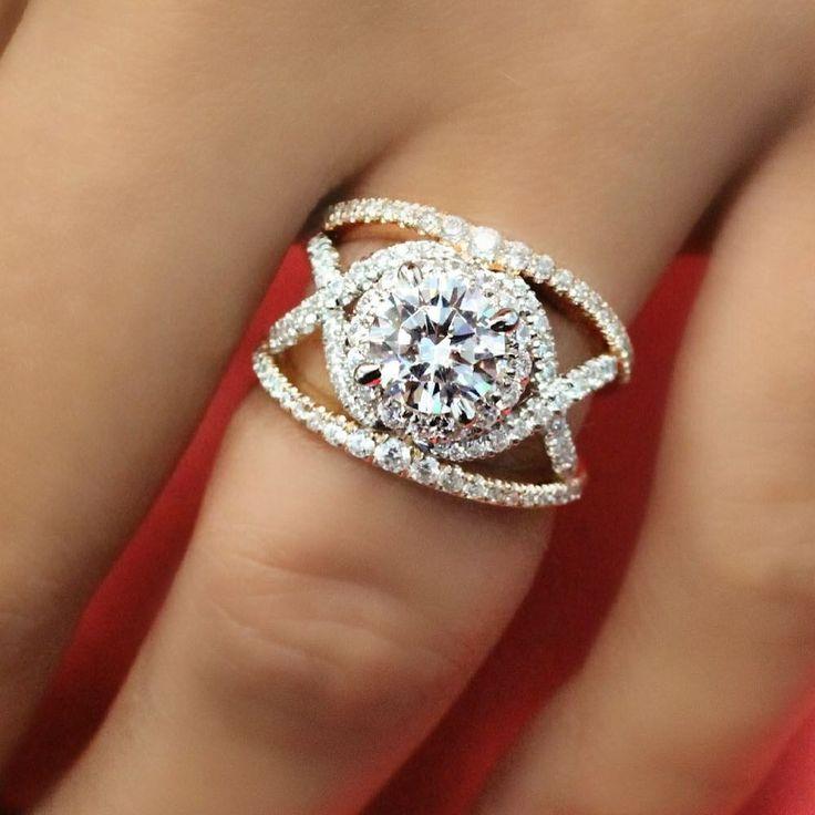 ❤️ A true love's knot!  #engagementring #gabrielny