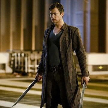 Tom Wisdom from the set of TV Series Dominion. He's my new muse as of now.