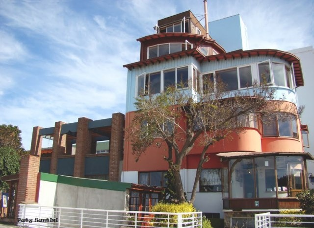 Pablo Neruda's house in Valparaiso, Chile. If you lived here, you'd be Pablo Neruda too.