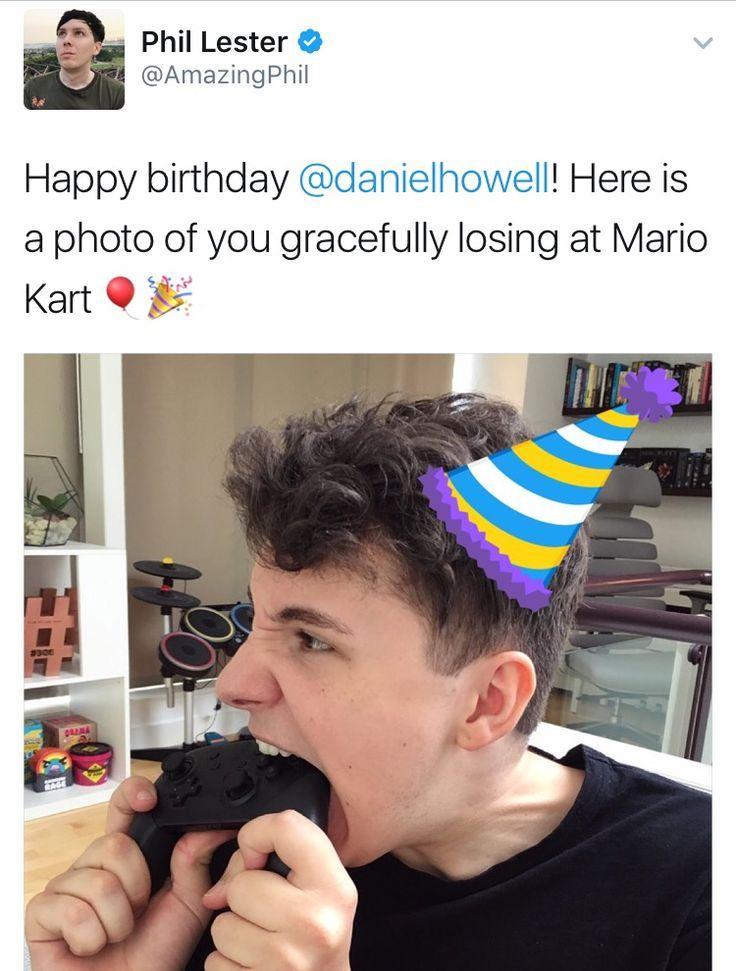 Happy Birthday Daniel James Howell!!!