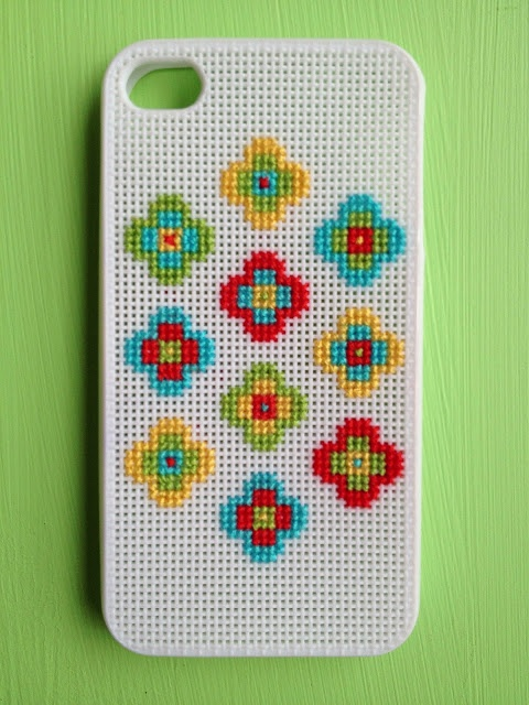 Two Little Banshees: Cross Stitch Phone Cover
