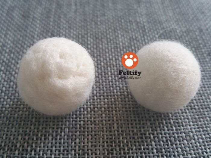 In last lesson of <Needle Felting: From Beginner to Master> and additional tutorial <How to make needle felted wool ball with short fiber wool? >, we've left a question for you:...