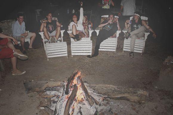 Bon Fire. Hell Yeah.