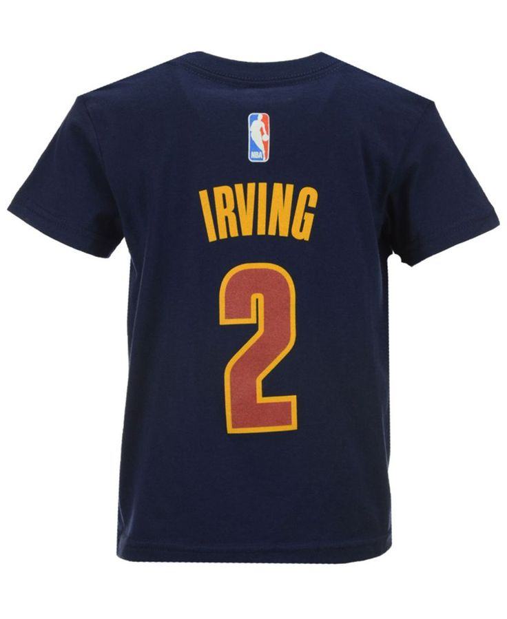 adidas Kids' Kyrie Irving Cleveland Cavaliers Name And Number T-Shirt