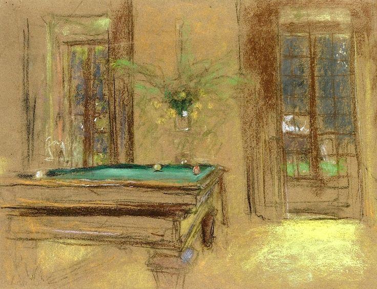 Édouard Vuillard - Billiards