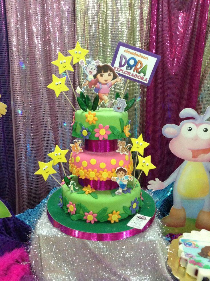 Dora Cake Torta De Dora La Exploradora Pastelees