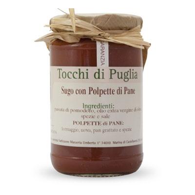 Sugo con polpette di pane  www.lovingpuglia.it