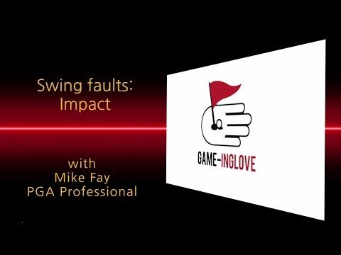 Golf swing faults associated with impact. Mike Fay, PGA discusses the most common mistakes your everyday golfer makes at impact. Mike discusses flipping at impact but then explains how to use Game-inglove to make sure you have a great impact position with forward shaft lean and how you will be able to compress the golf ball like never before, for maximum control and distance. Eliminate the slice and stop hooking the ball with Game-inglove #Golf Training Aids #gameinglove Game-inglove