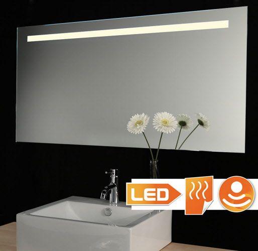 Badkamer spiegel met LED verlichting en spiegelverwarming 209,- (ipv 299,-)