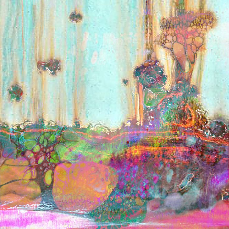 Digital art: As though the woods were marrow of my bone on Behance