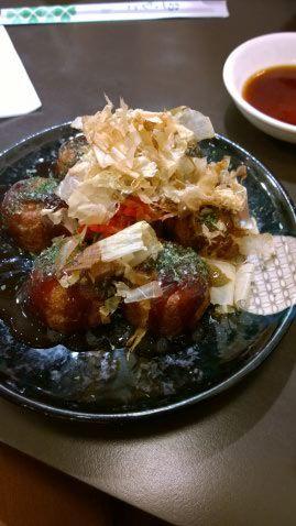 Takoyaki - boulettes de poulpe